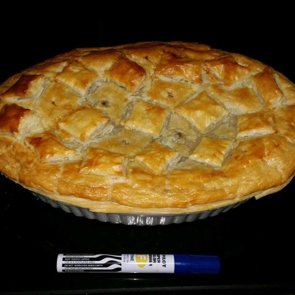 Steak and Ale Pie with Mushrooms Mrs. L