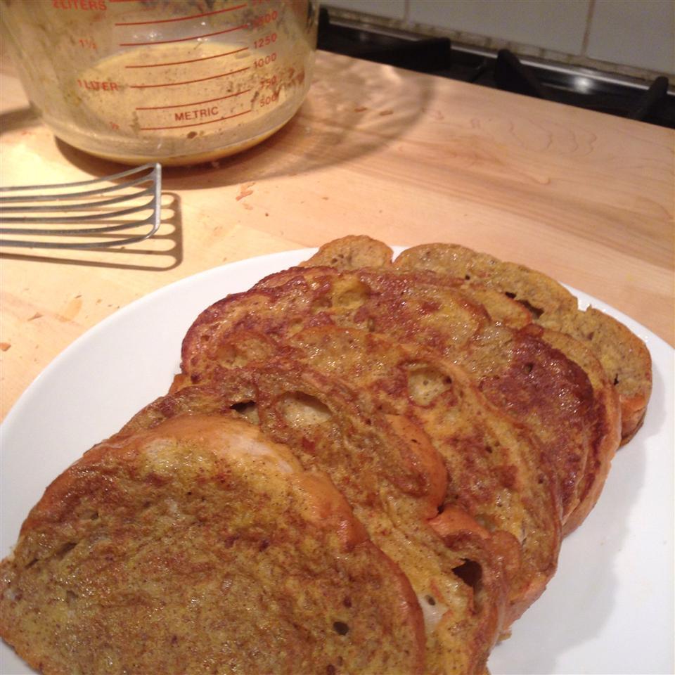 Pumpkin French Toast butterking02