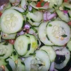 Asian Cucumber Thai Salad srt8mommy