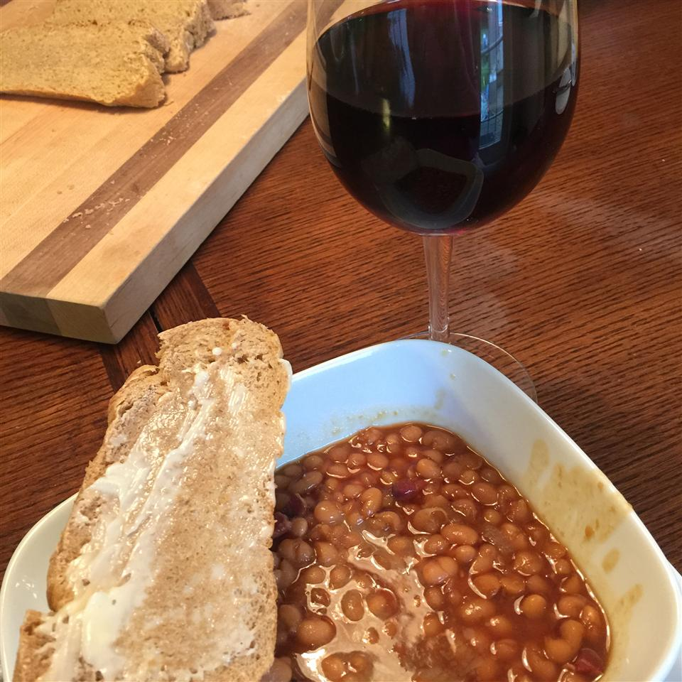 The Best Slow Cooker Baked Beans (Dad's Recipe) Nicola Phillips-Ritcy
