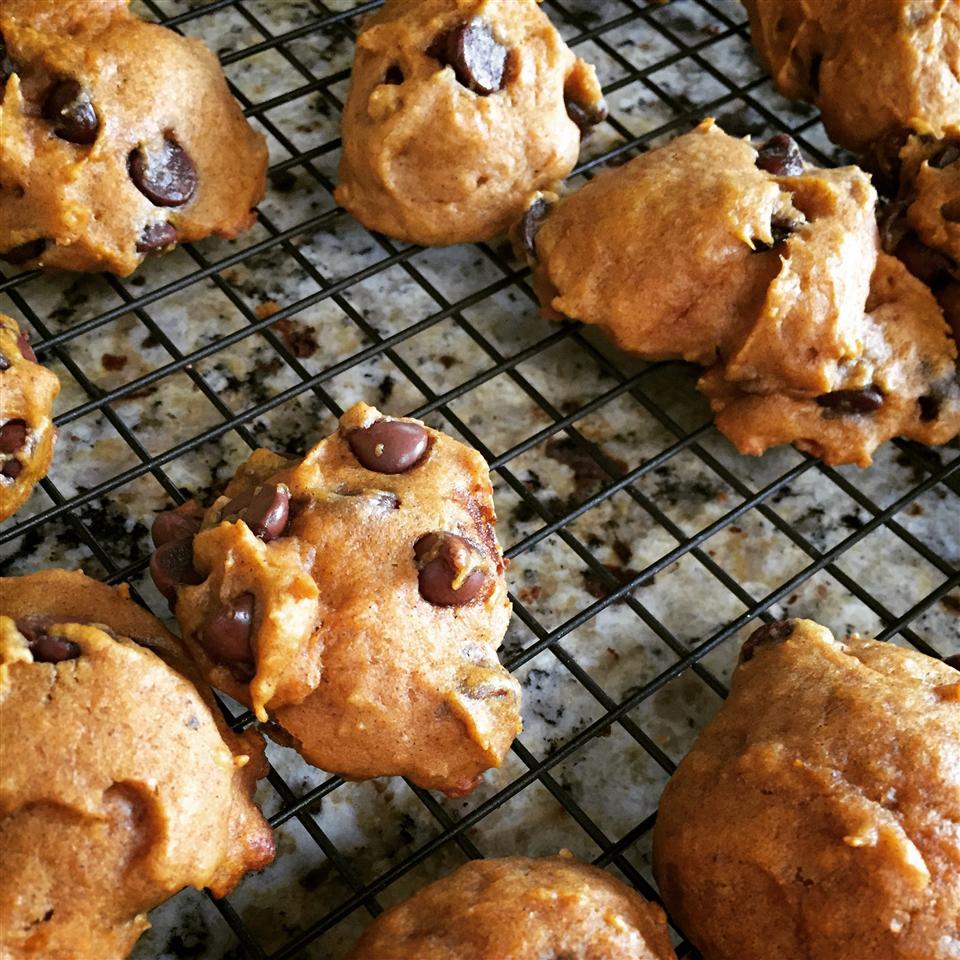 Pumpkin Chocolate Chip Cookies III gomattmorgan