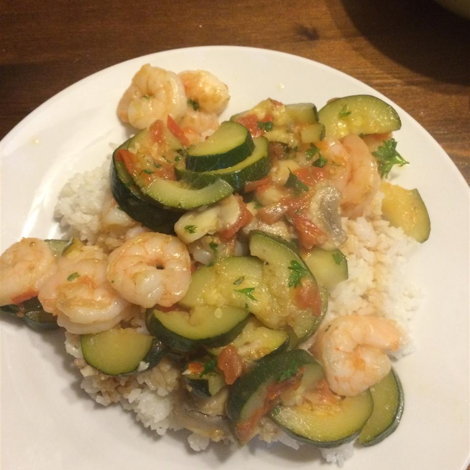 Shrimp and Vegetable Couscous Benj Taylor