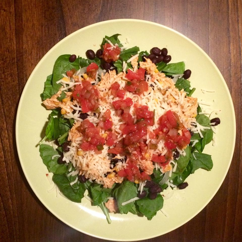 Taco Salad with Spinach MBernards