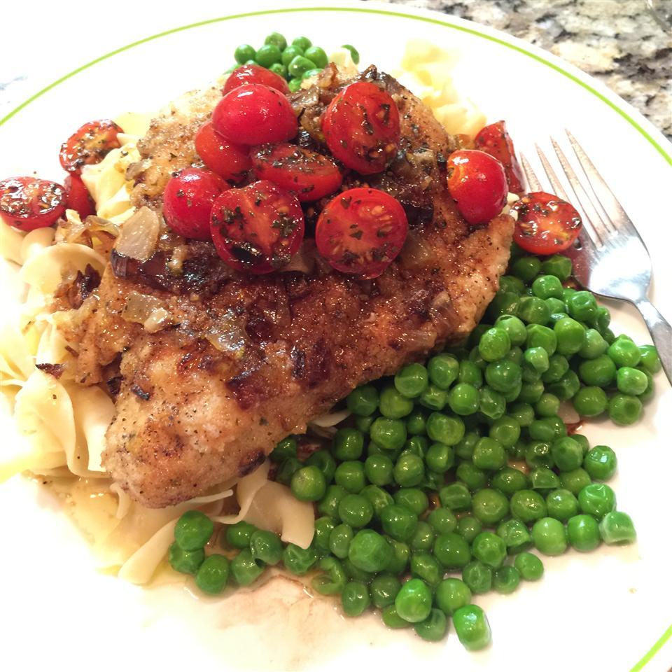 Tomato Basil Chicken Cindy
