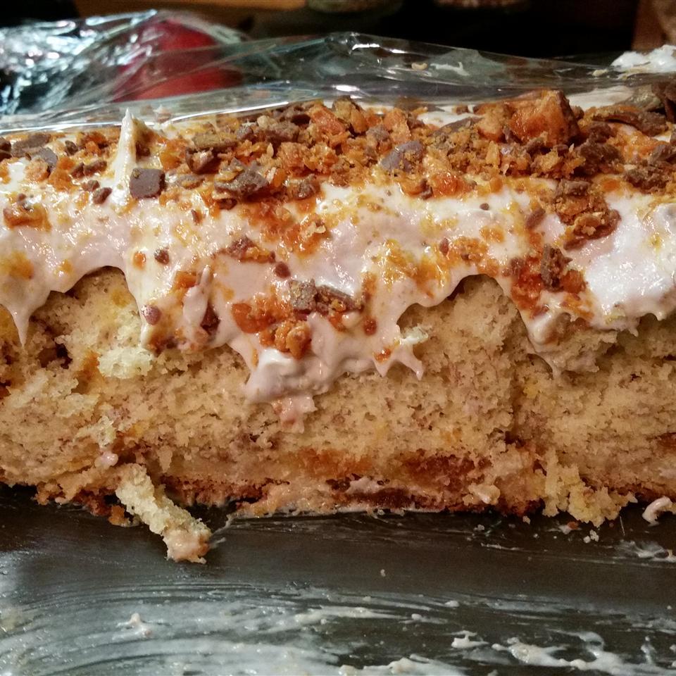Butterfinger Banana Cake Rachel Gearhart