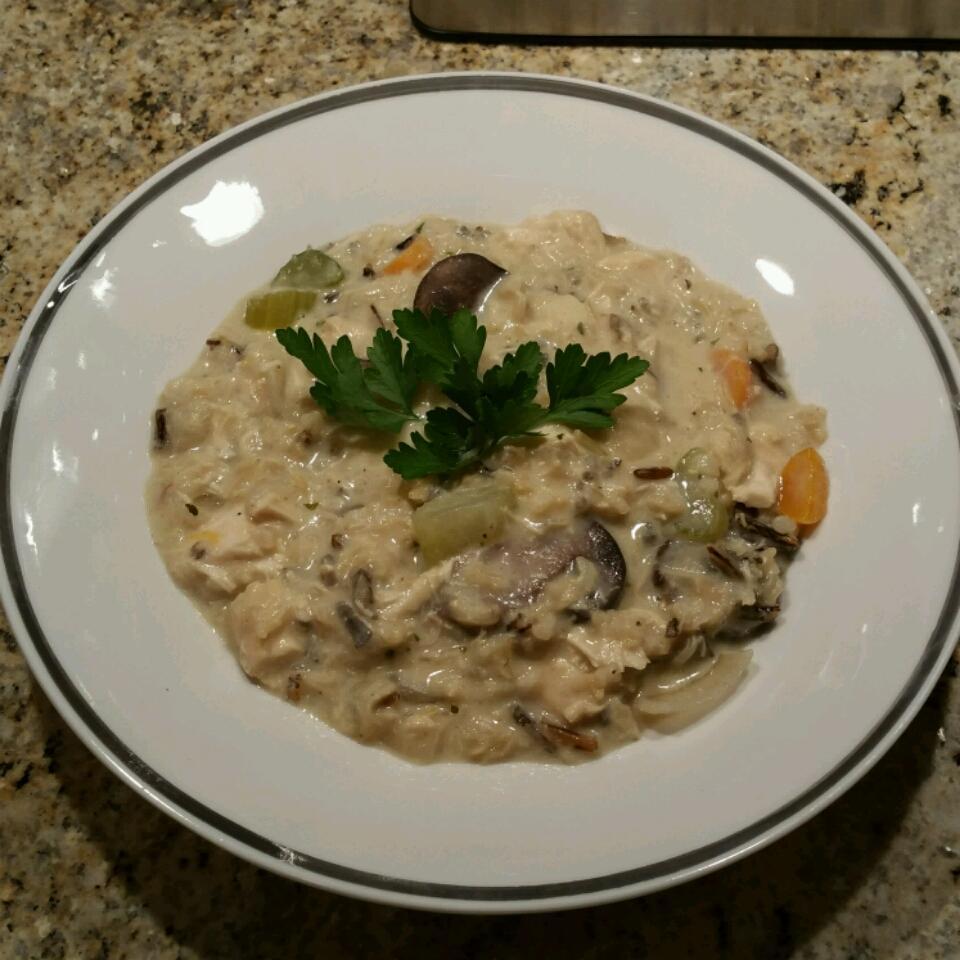 Chicken Wild Rice Soup I NurseCook25
