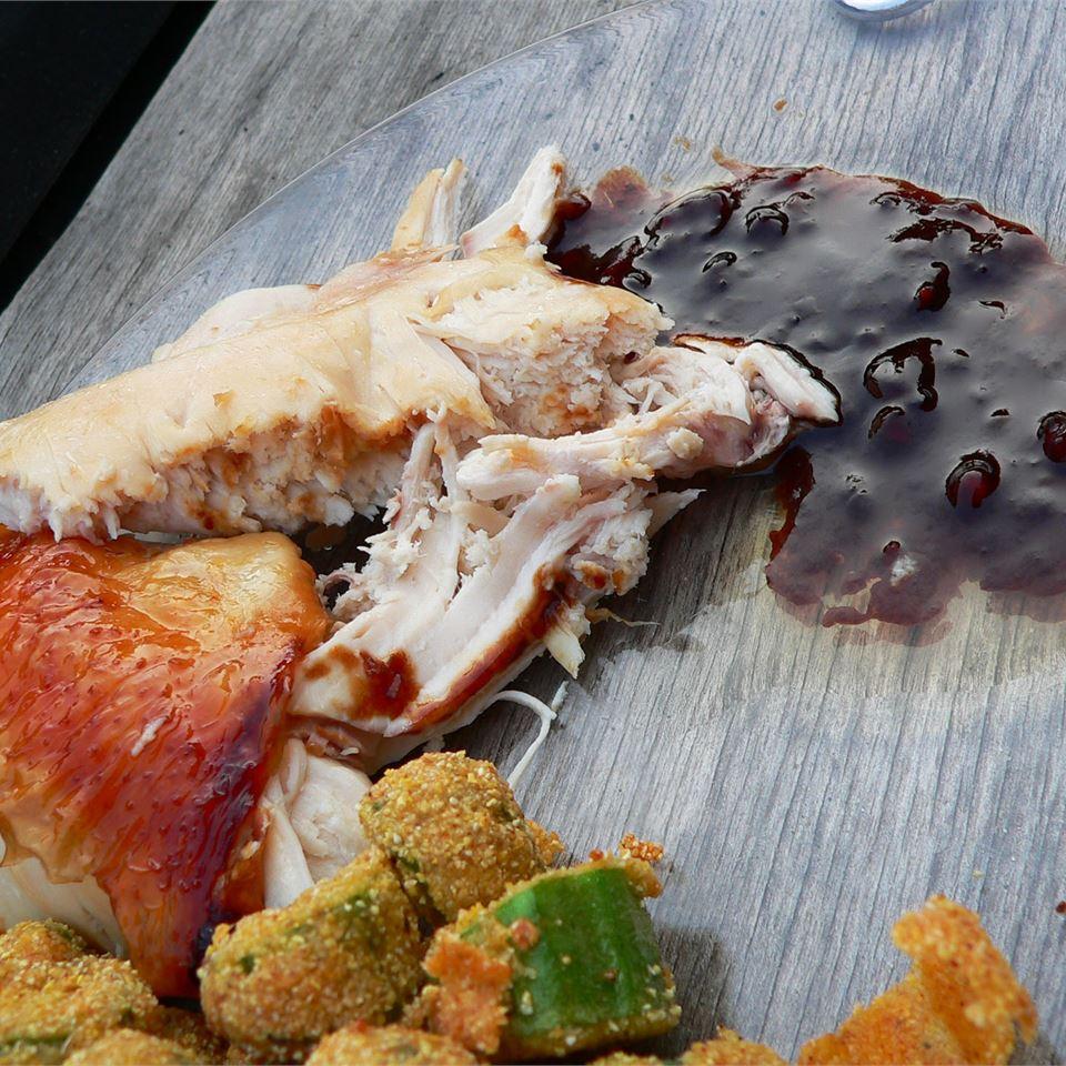 Chinese Roast Chicken with Gravy