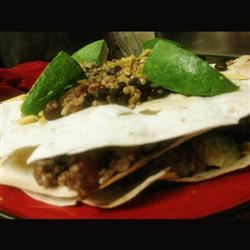 Black Bean Soft Tacos Hezzy_tant_Cook