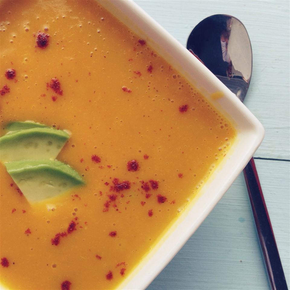 Butternut Squash Soup with a Paleo Kick