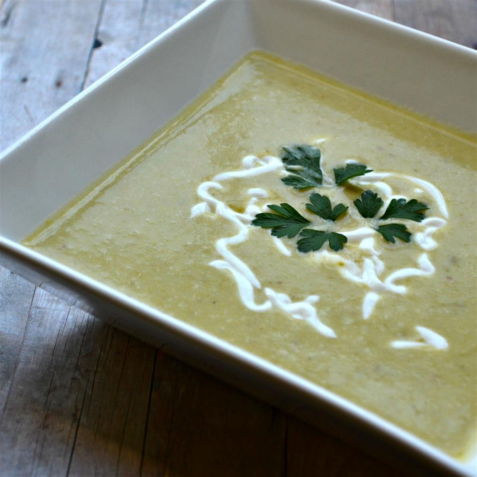 Asparagus Soup I Heather Simpson
