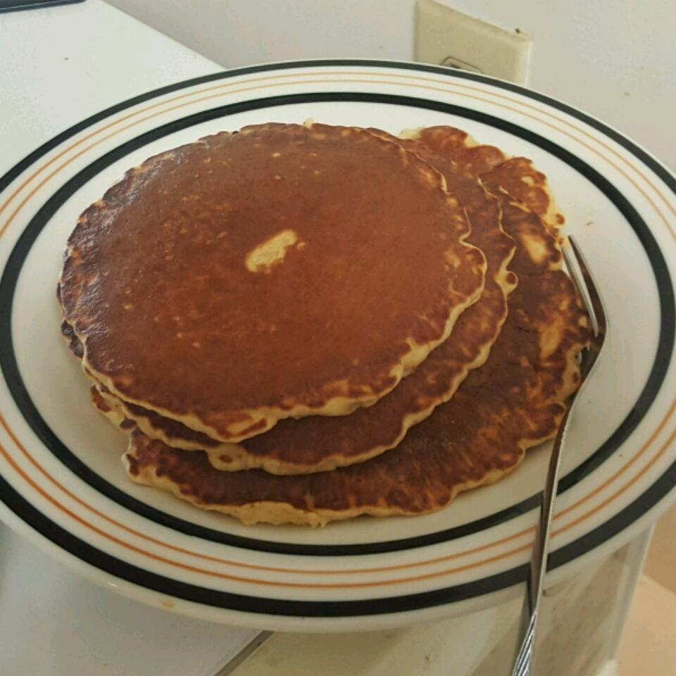 Quick Oatmeal Pancakes Ashley Wessel