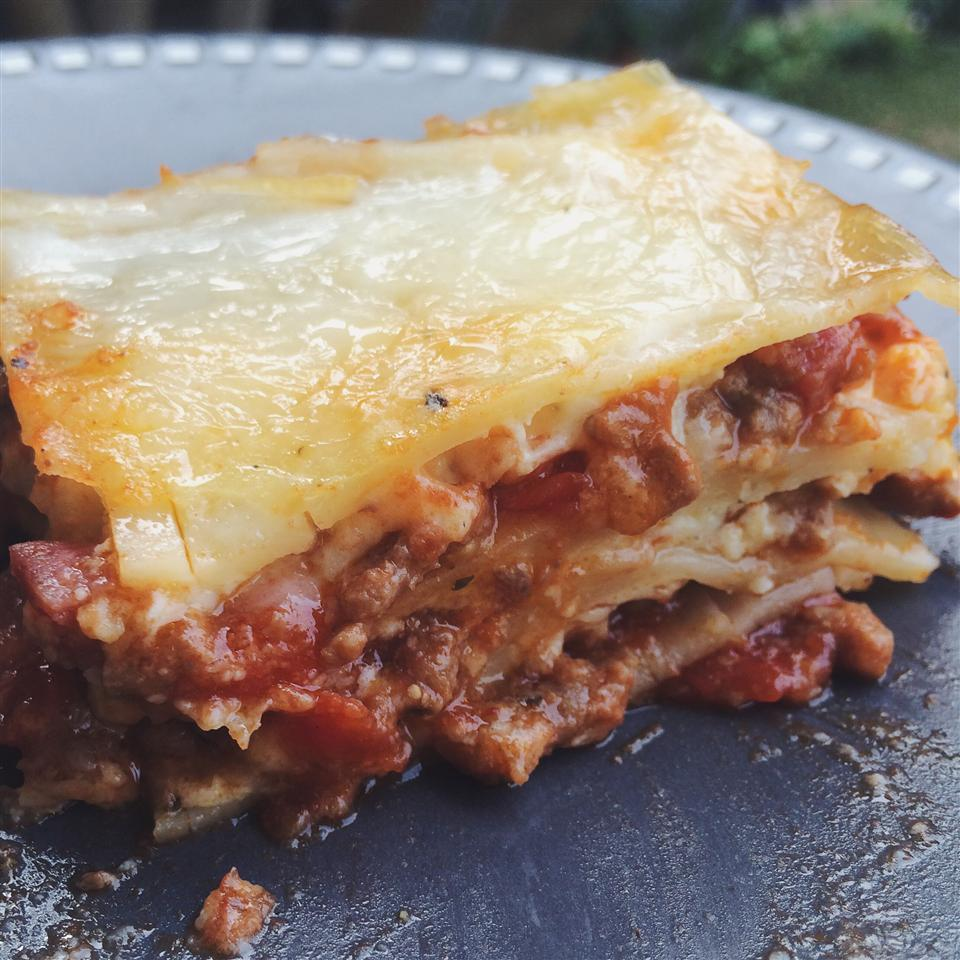 Grandma's Best Ever Sour Cream Lasagna weniwenol