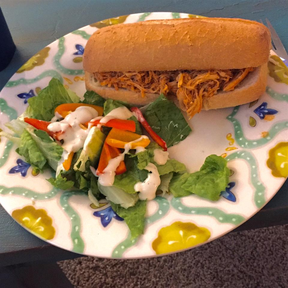 Slow Cooker Buffalo Chicken Sandwiches Taylor