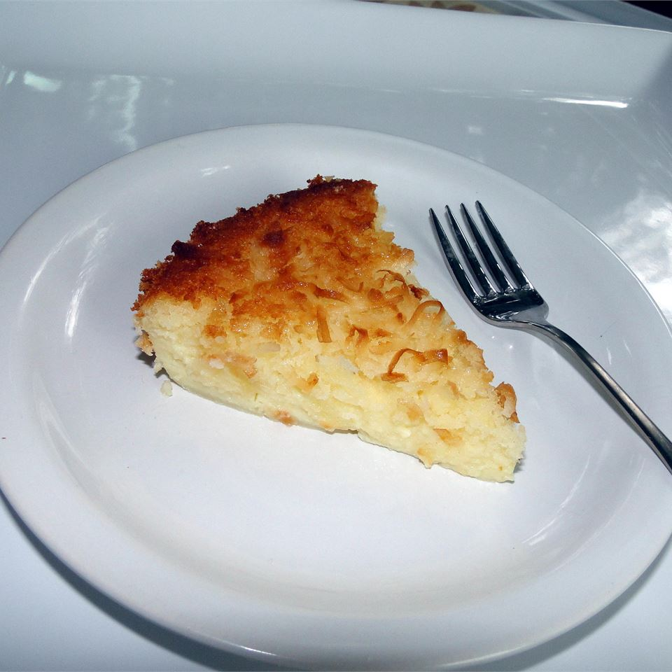 Impossible Coconut Pie I