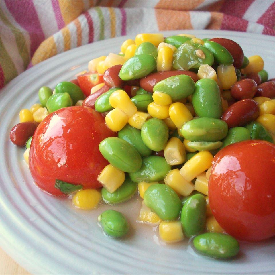 Healthy Garden Salad CookinBug