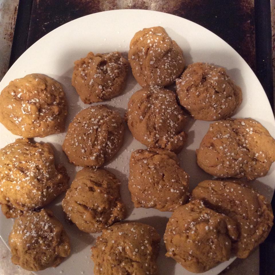 Pumpkin-Walnut Cookies