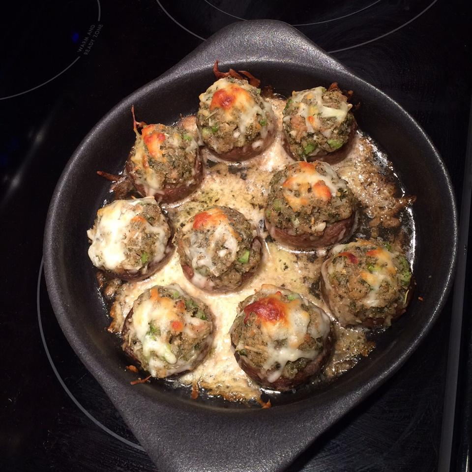 Dinah's Stuffed Mushrooms Susankay