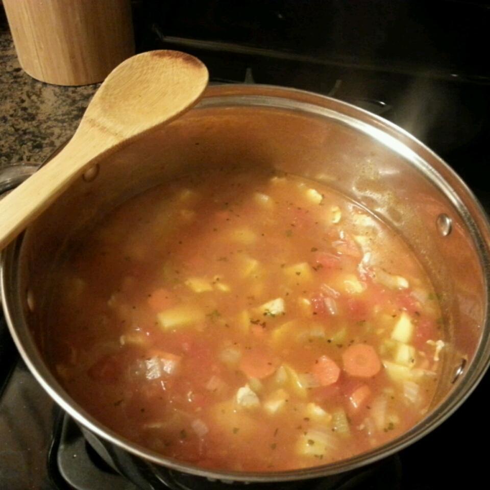 Chicken Veggie Soup II Alucard Tepes