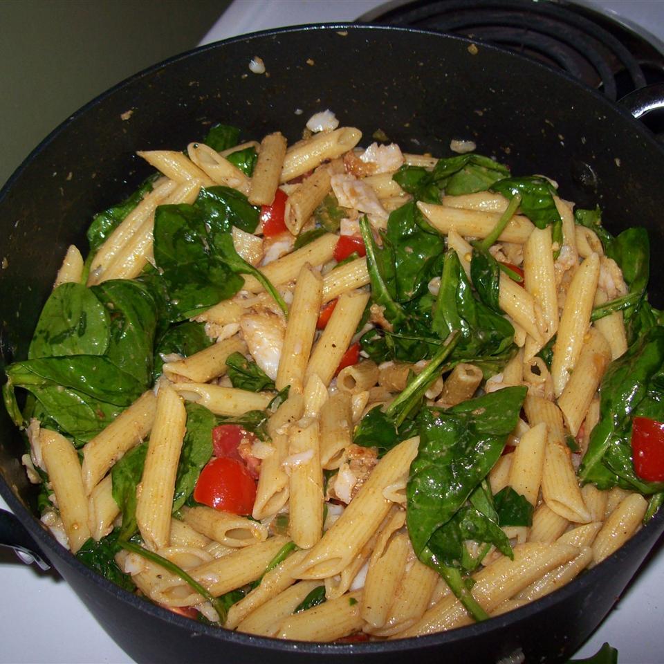 Jalapeno Garlic Tilapia Pasta Lara Verdone