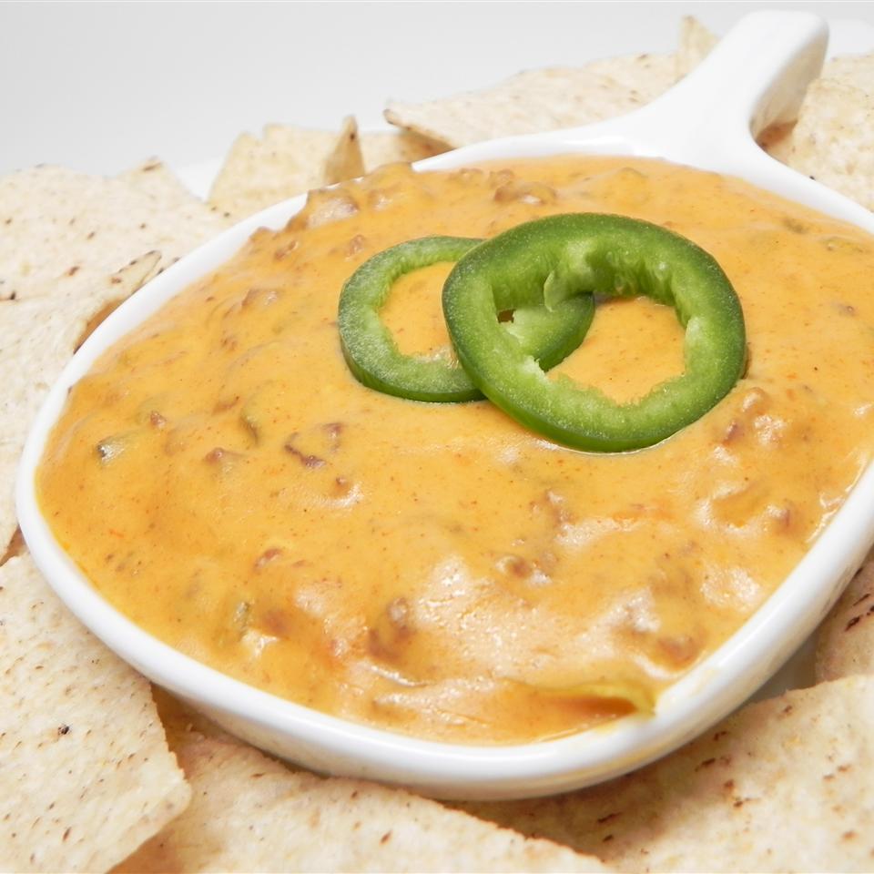 Mexican Cheese and Hamburger Dip Angellina
