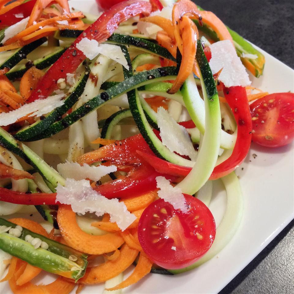 Spiral Zucchini Salad