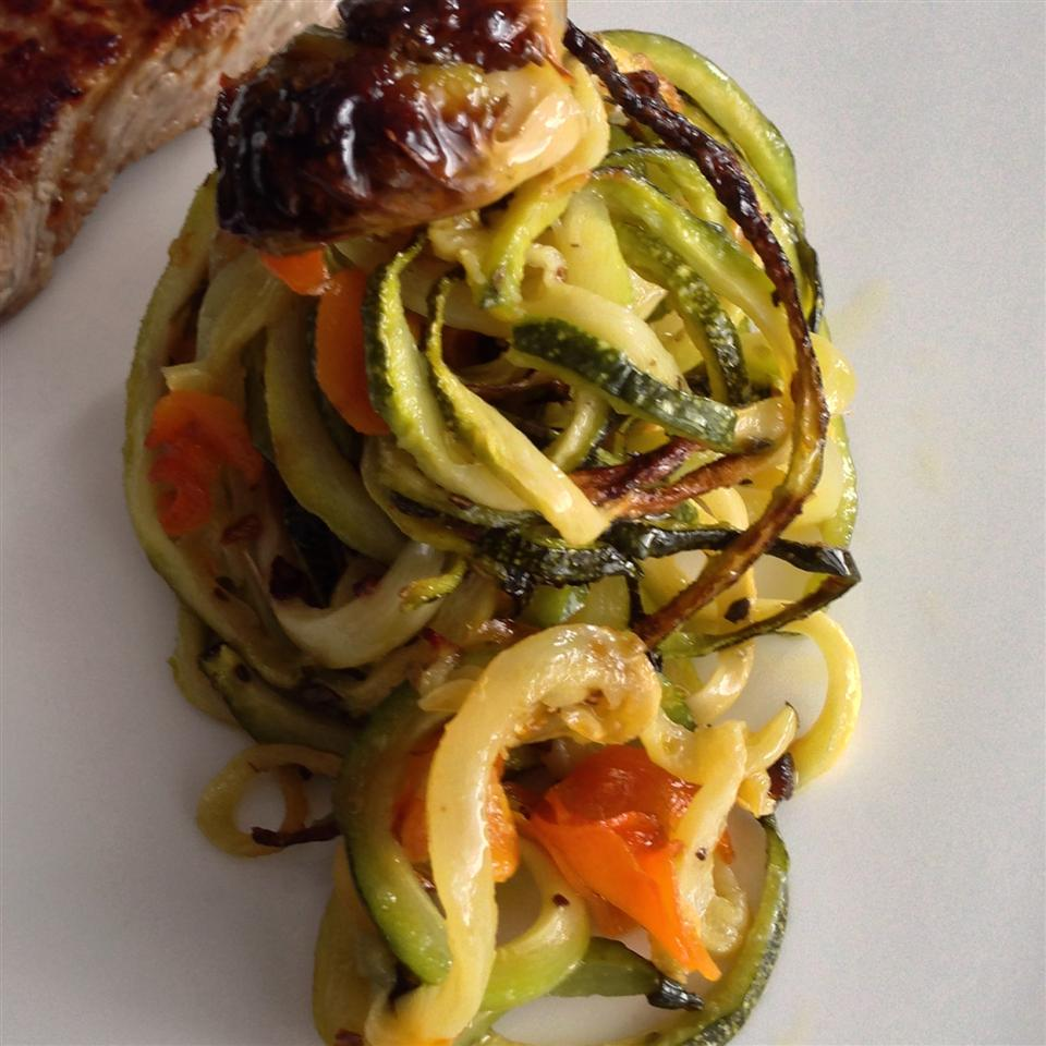 Baked Autumn Veggighetti Buckwheat Queen