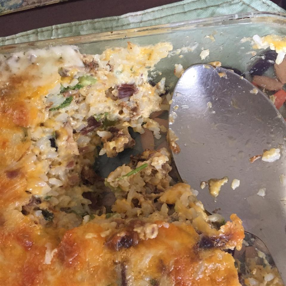 Cheesy Turkey Rice Casserole albam