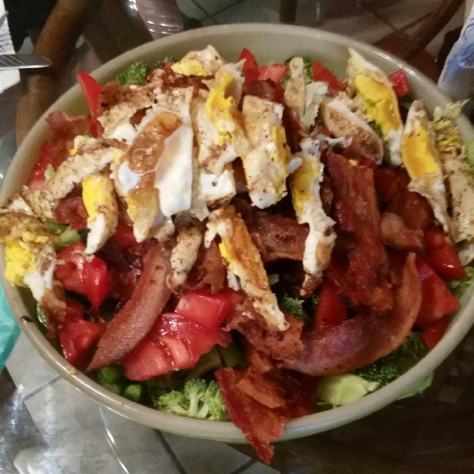 Bacon and Egger Dinner Salad