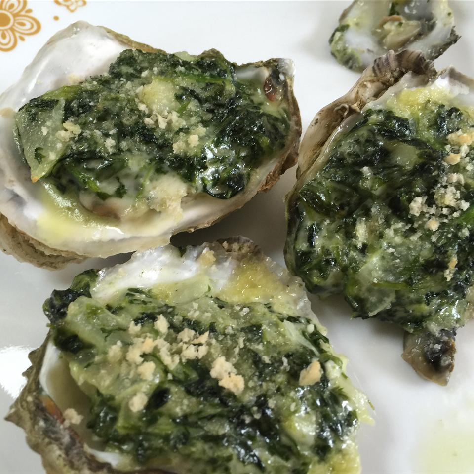 Rockin' Oysters Rockefeller Cassandra Kennedy