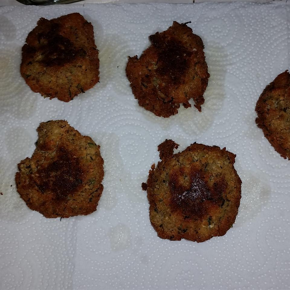 Parmesan Zucchini Patties Kristen Huff