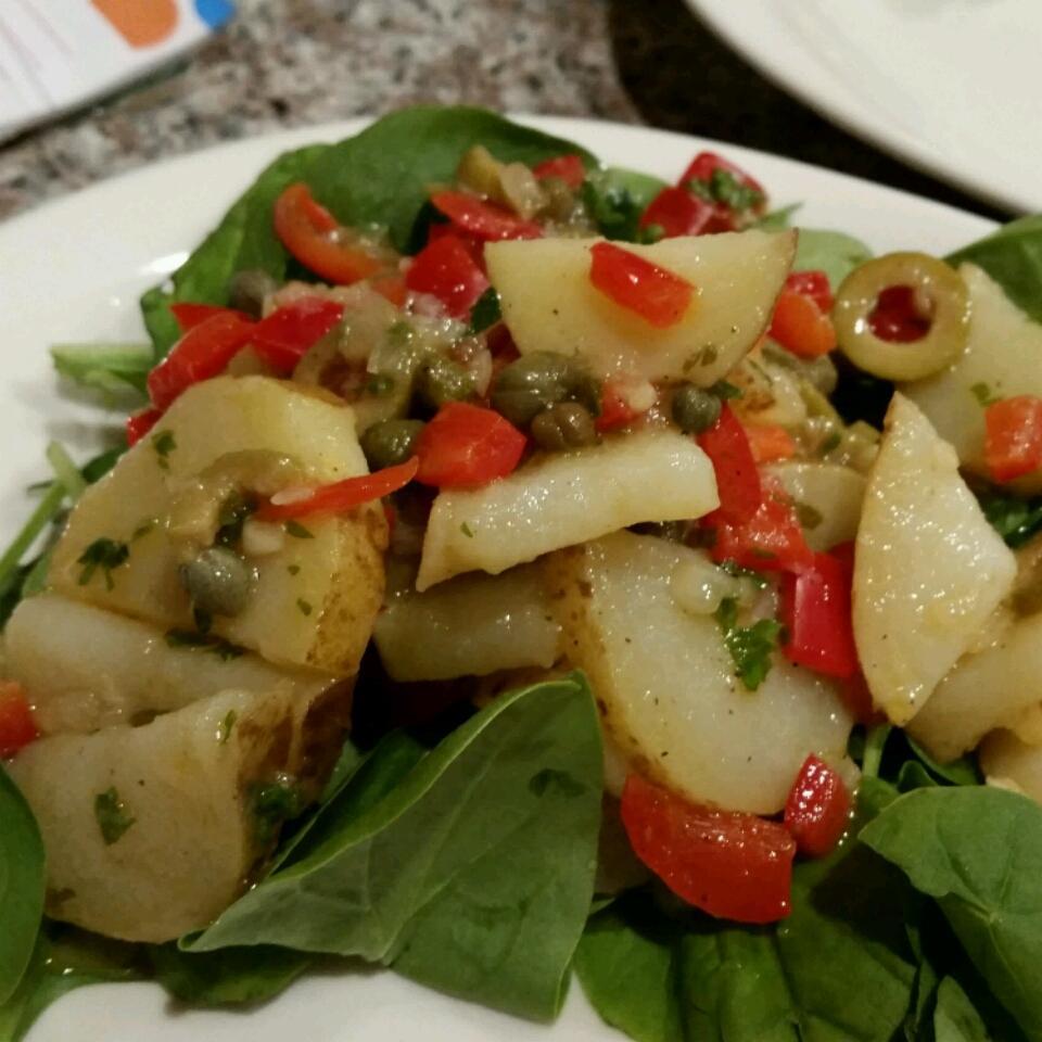 Savory Spanish Potato Salad Elvira Silva