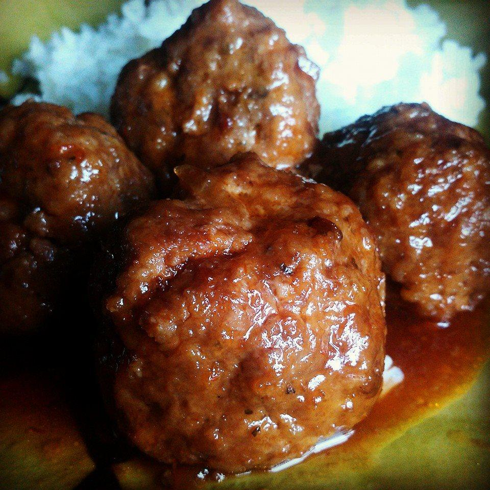 Sweet and Sour Meatballs Chef V