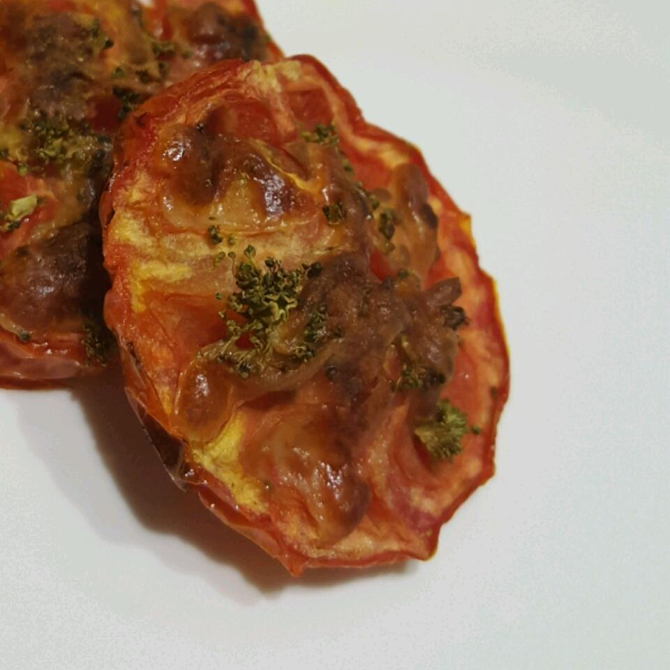 Baked Tomato Slices