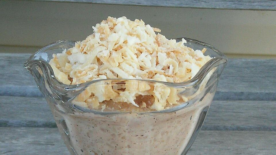Jasmine Rice Pudding with Toasted Coconut