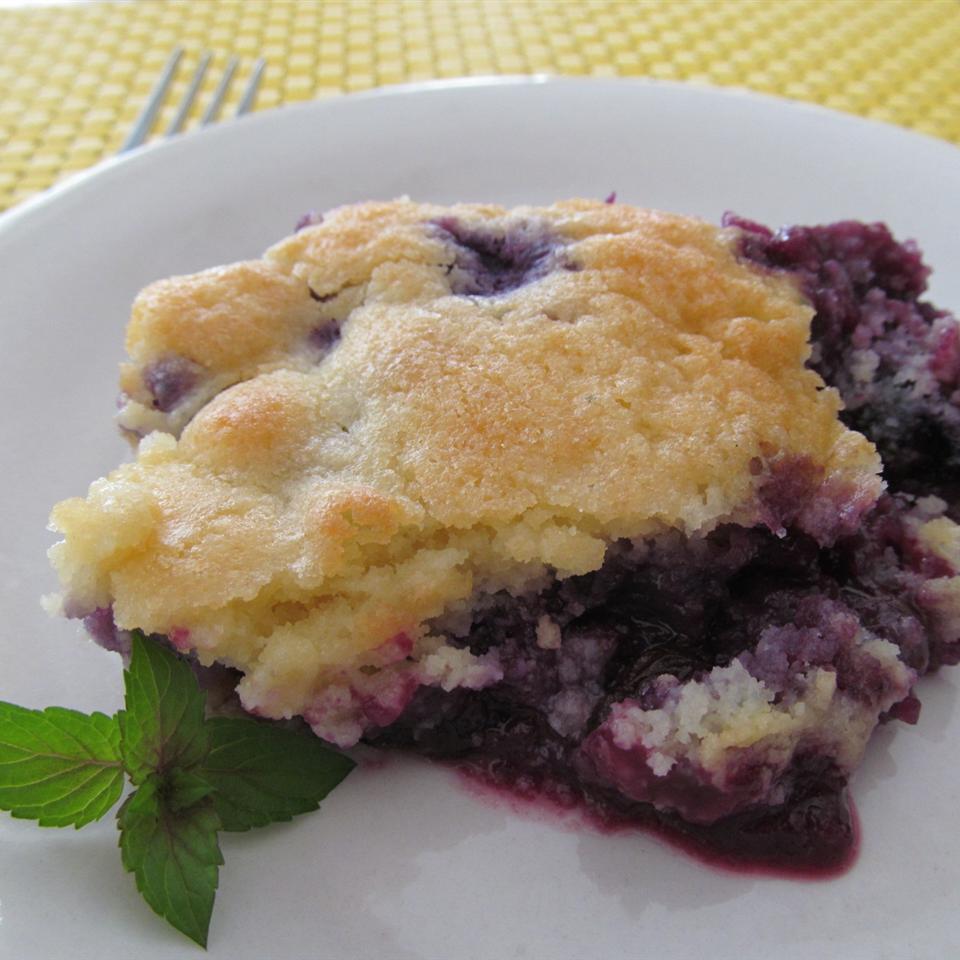 Best Ever Blueberry Cobbler