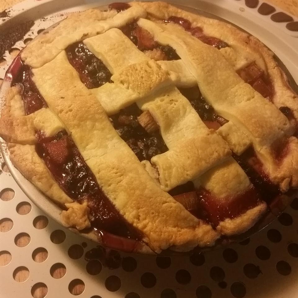 Bluebarb Pie Erica Moore