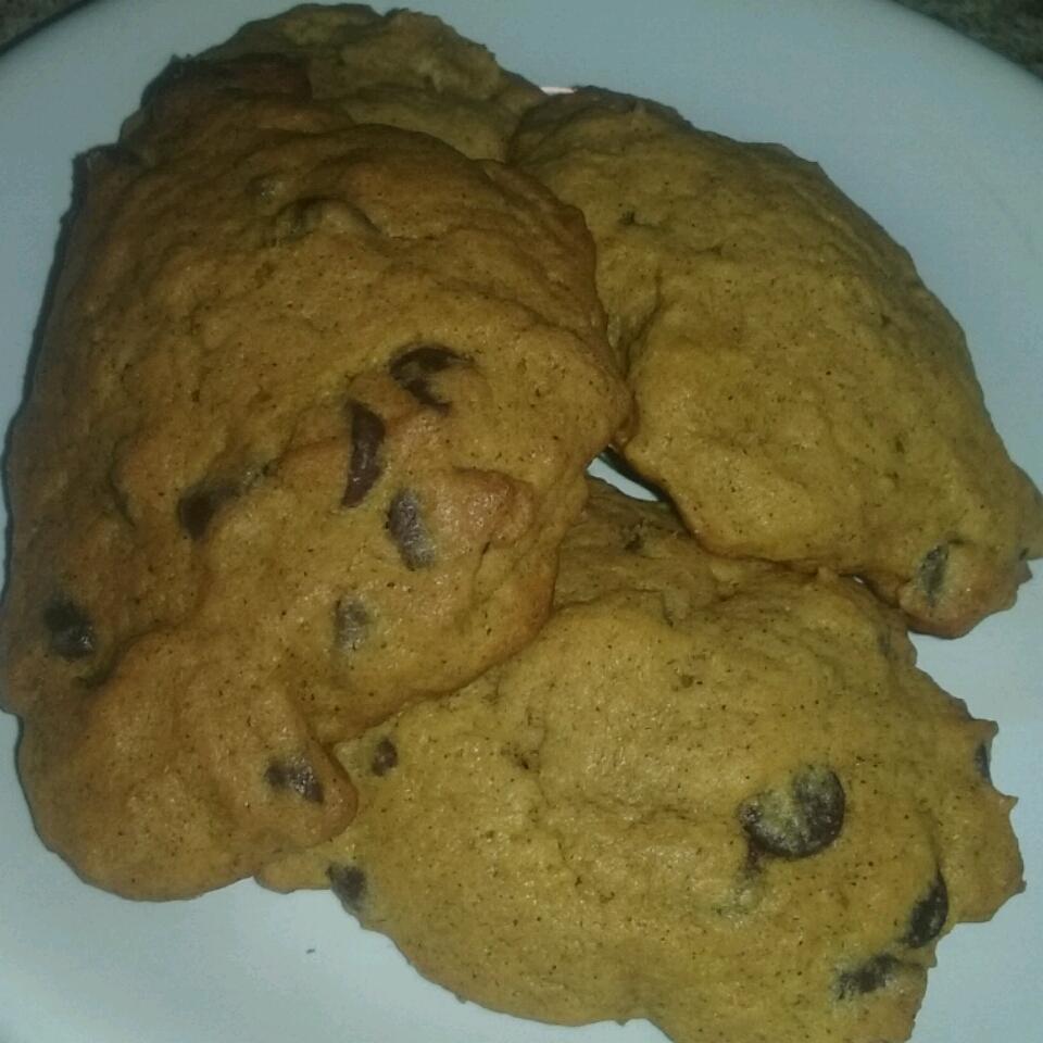 Crystal's Chocolate Chip Pumpkin Cookies Lindsay Jean