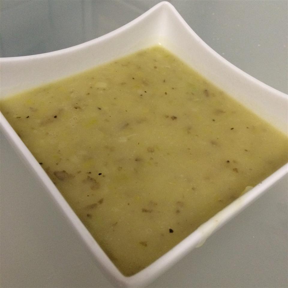 Potato Leek Soup I Angela Morgan