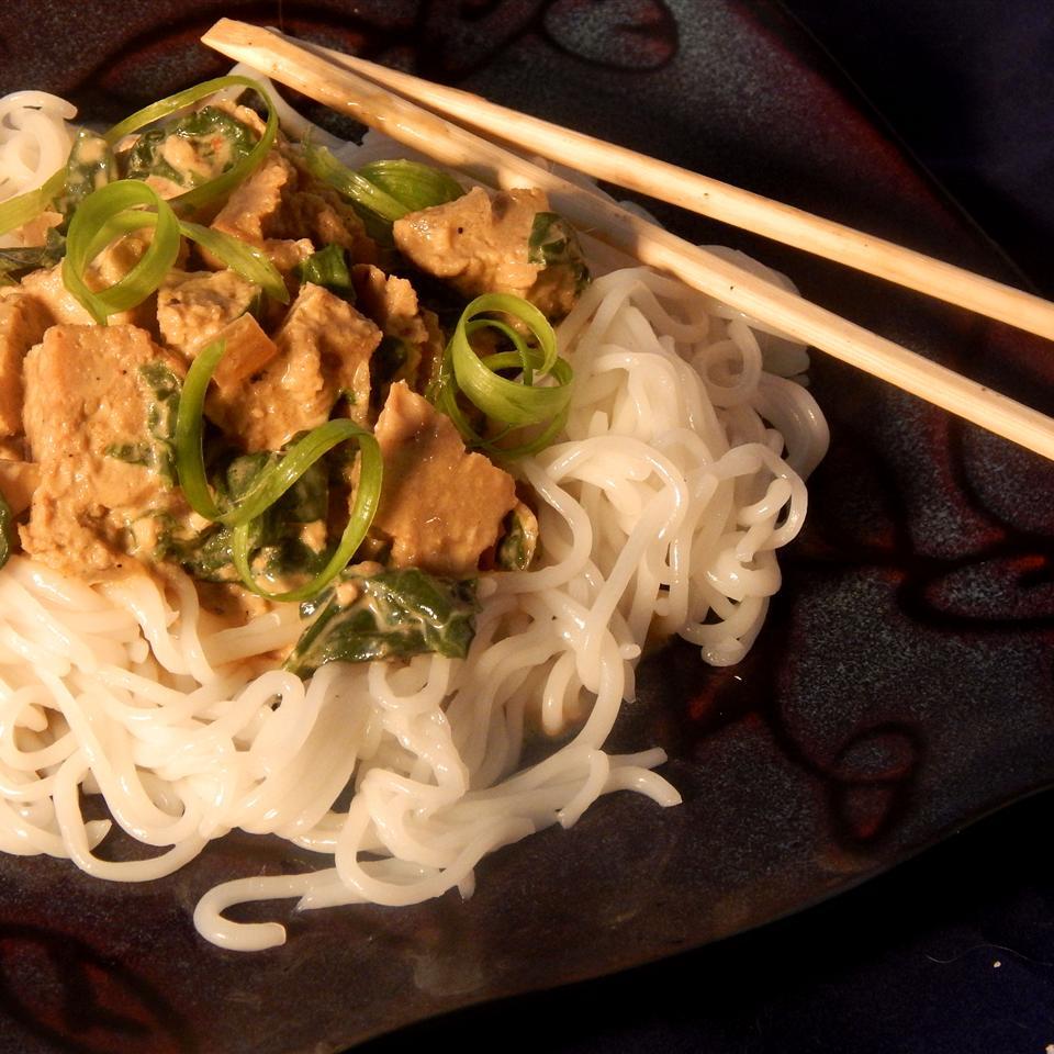 Seitan in Peanut Sauce or Vegetarian Gai Tua