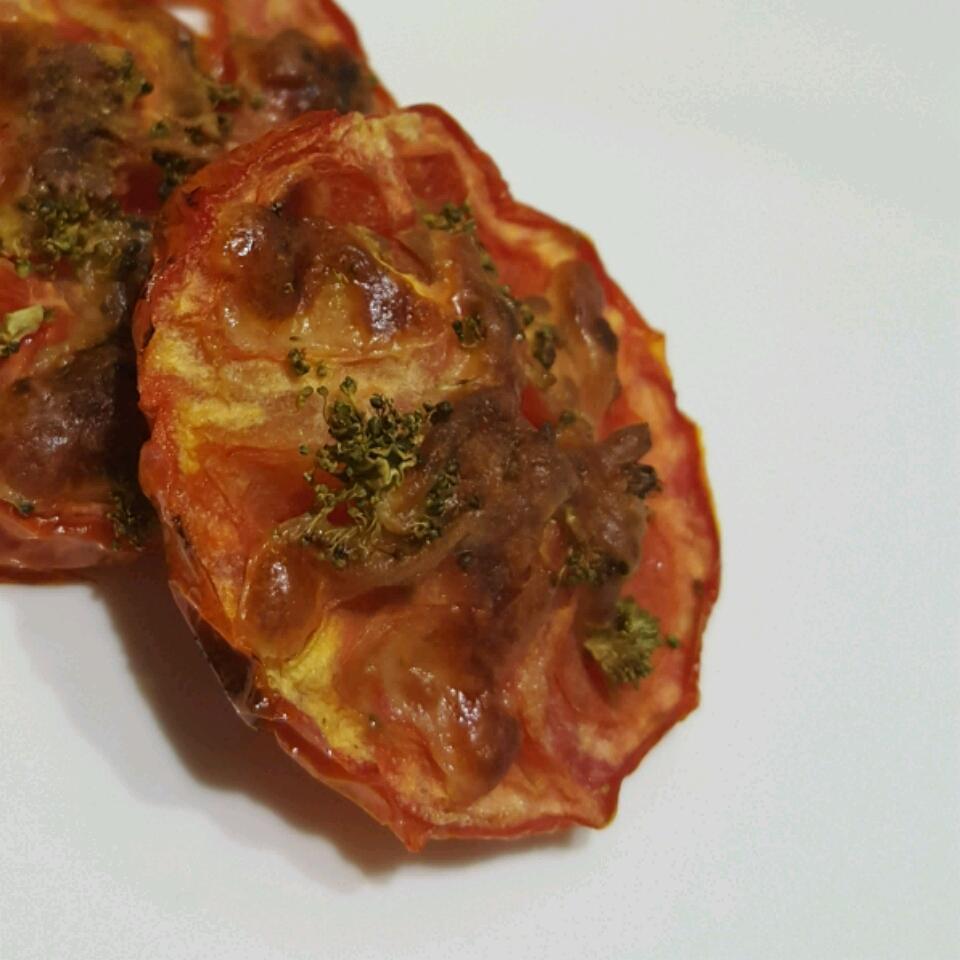 Baked Tomato Slices Rawan Jaha