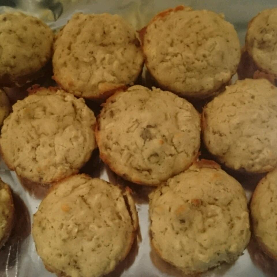 Savory Sausage, Cheese and Oat Muffins italmimi