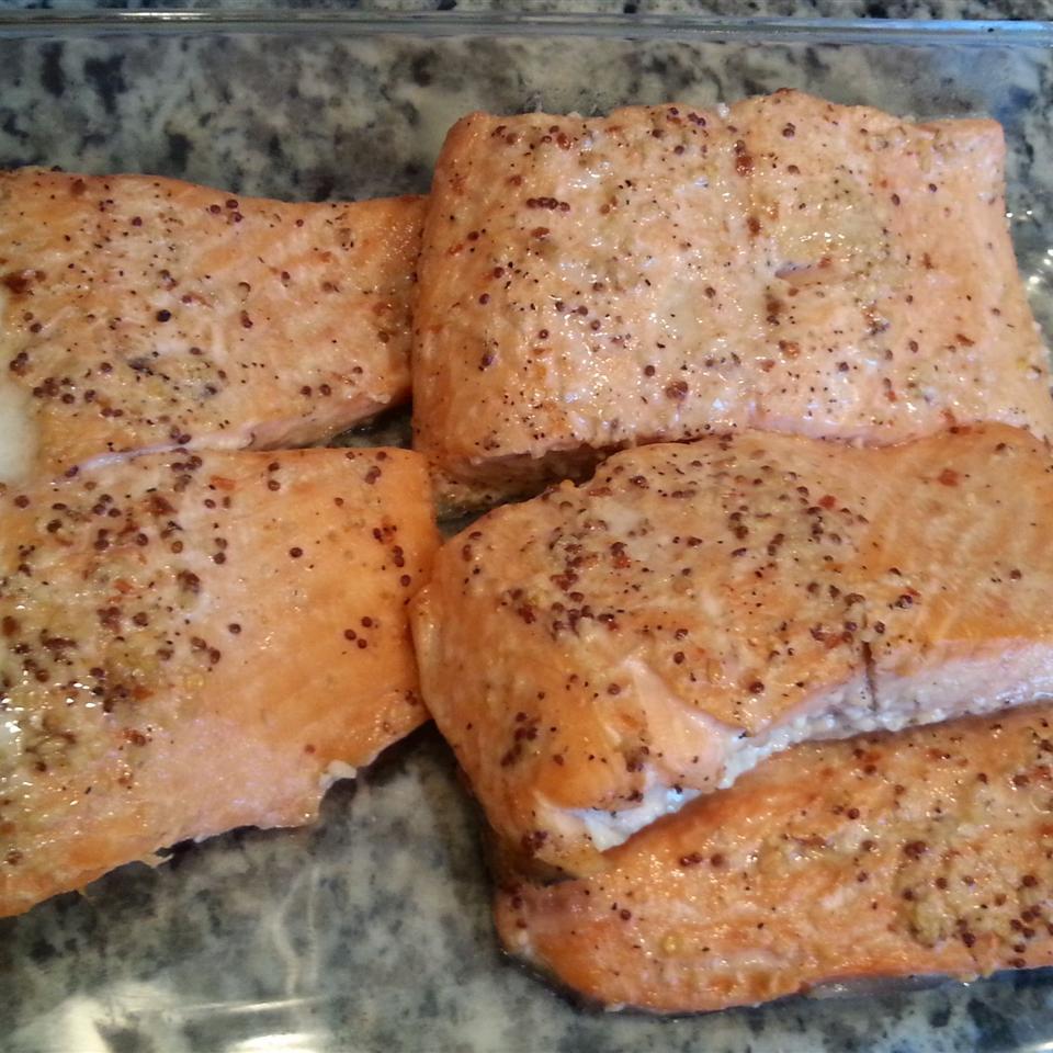 Spicy Garlic Salmon just_jam