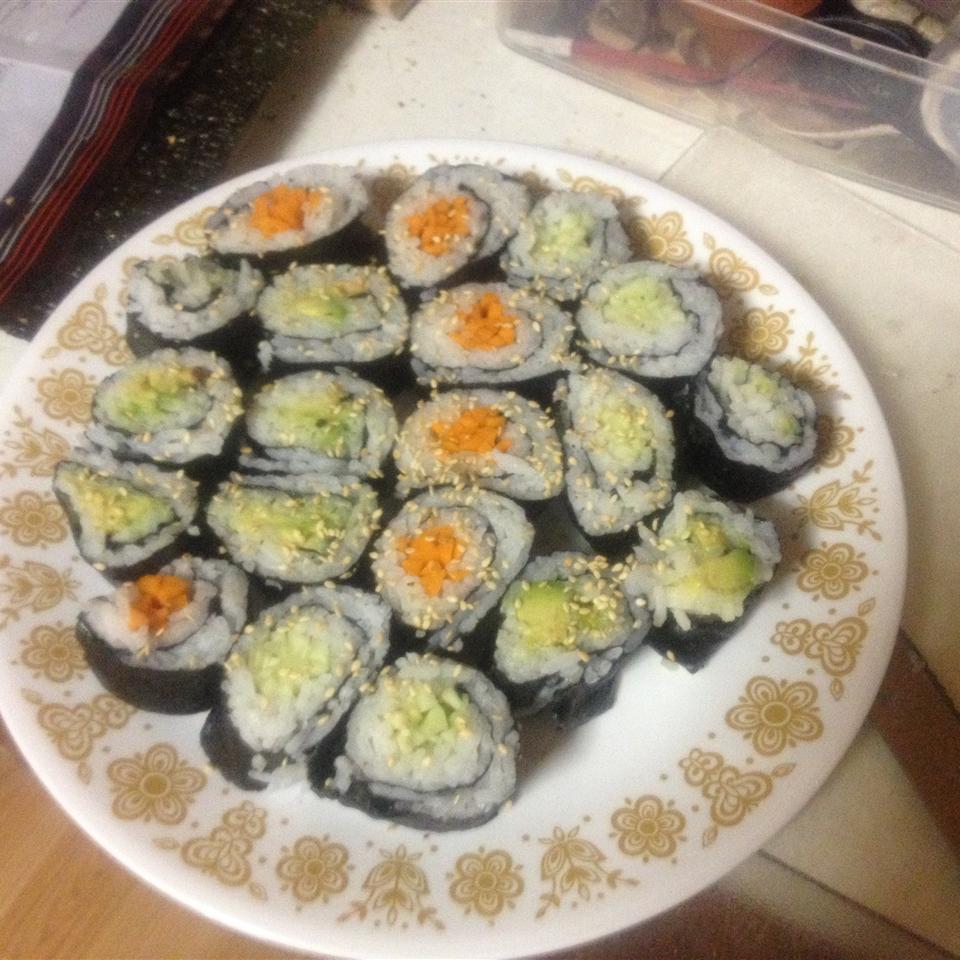 Vegetarian Sushi 55.