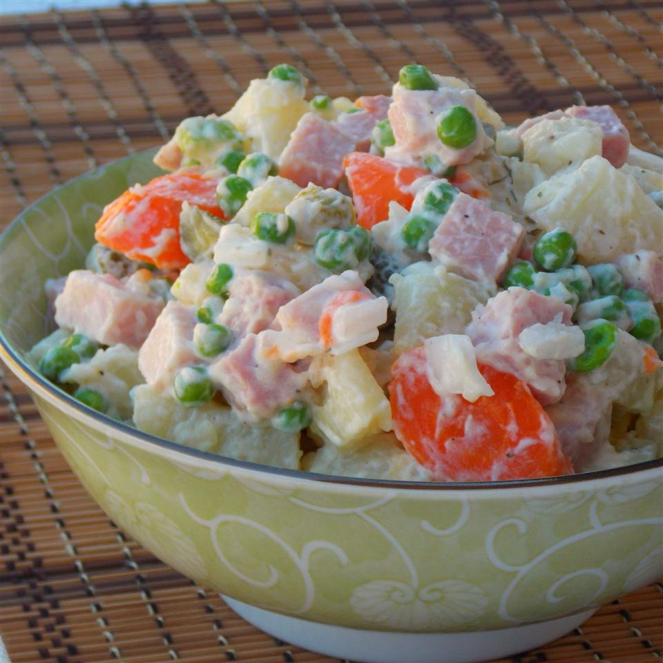 Potato Ham Salad