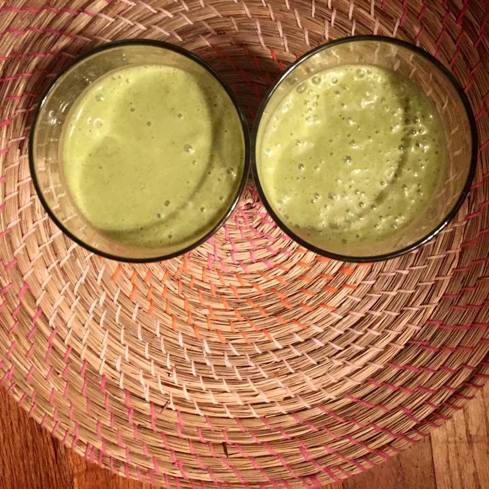 Moringa Coconut Smoothie