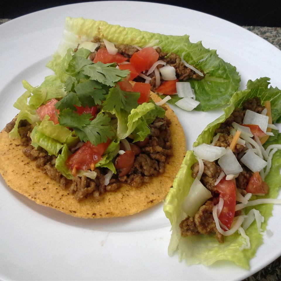 Ground Beef with Homemade Taco Seasoning Mix Jeannine Maxwell