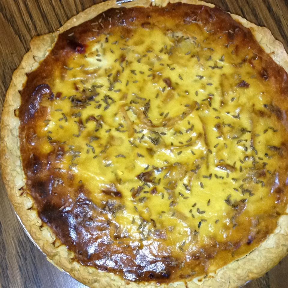 German Zwiebelkuchen (Onion Pie) MMMICHELLE