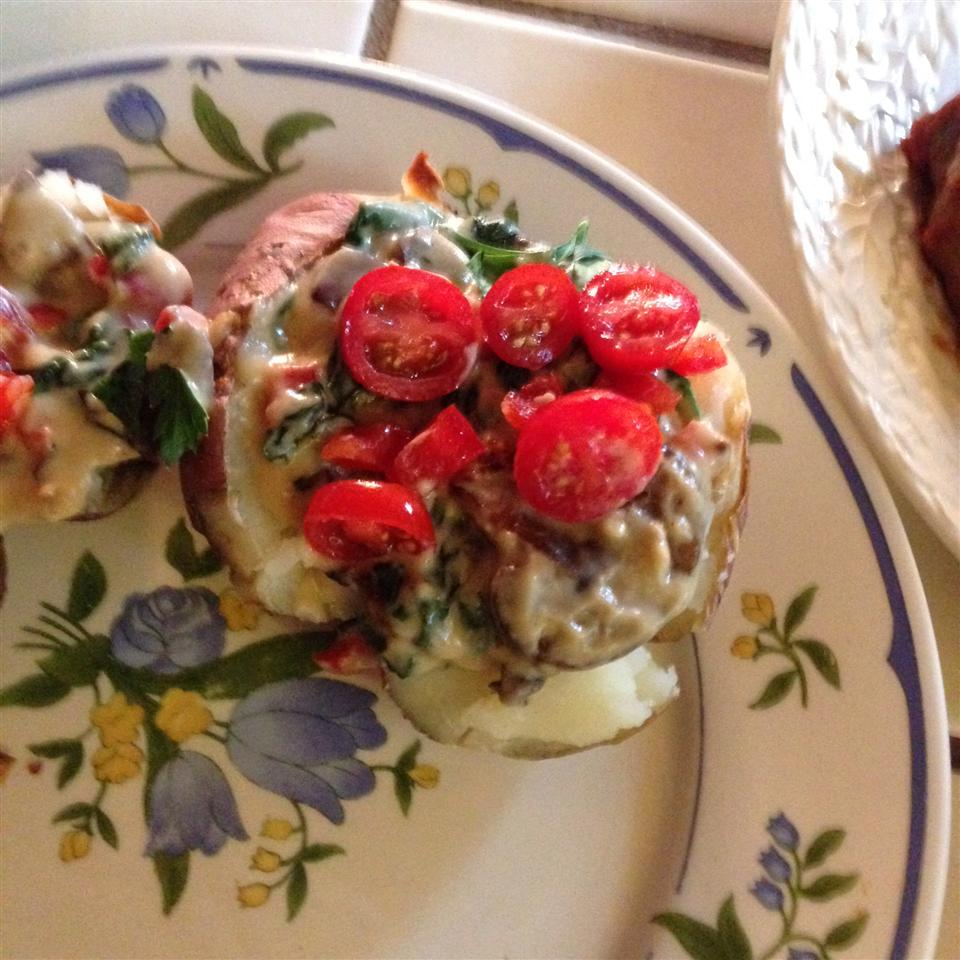 Stuffed Alfredo Baked Potatoes Matthew
