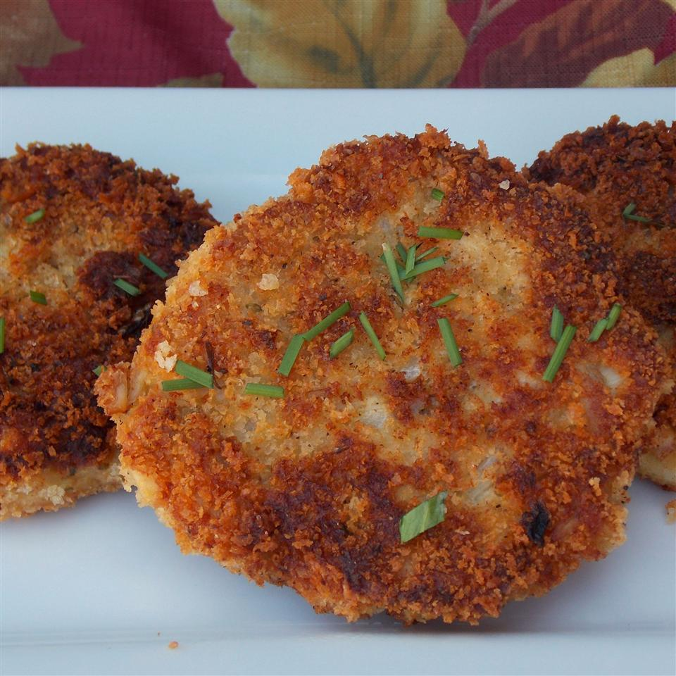 Pan Fried Chicken Croquettes