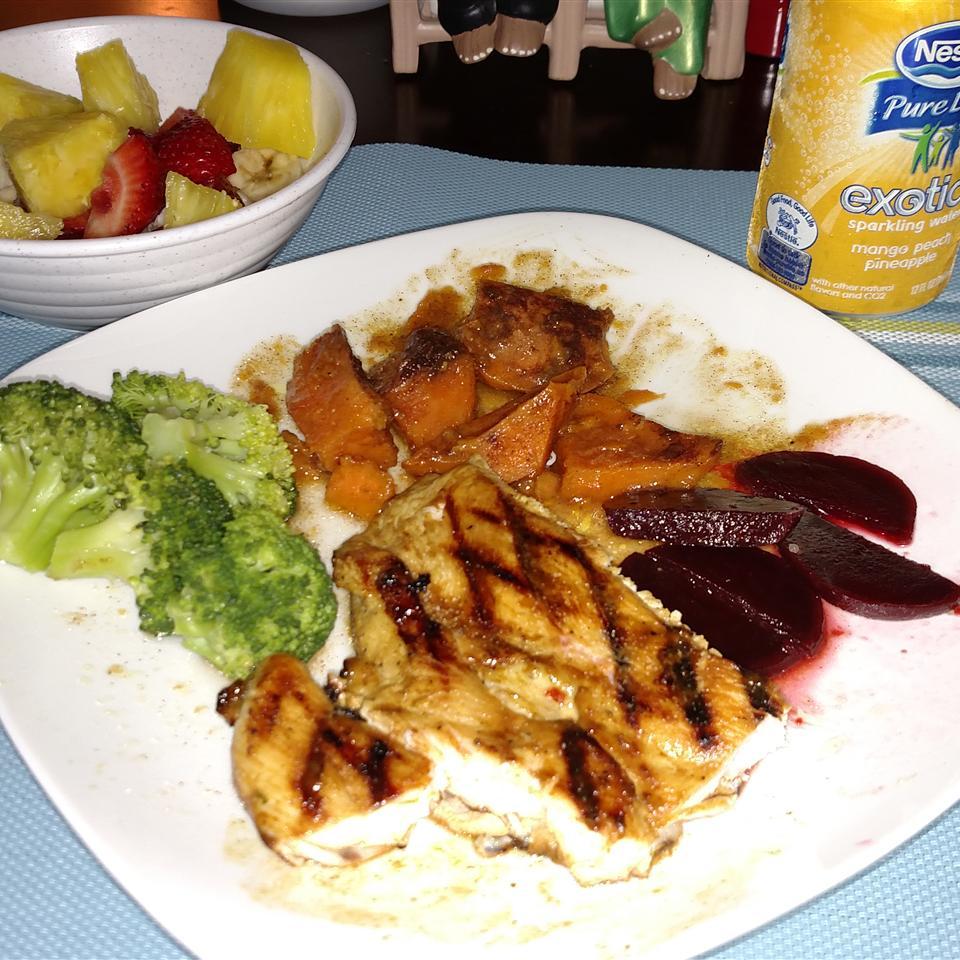Honey Mustard Grilled Chicken Phyllis-Marie Wiggins, PhD